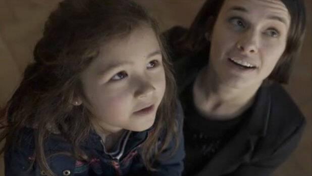 Image extraite du court métrage de Mélanie Laurent poru le lancement de la saison Culturelle 2017